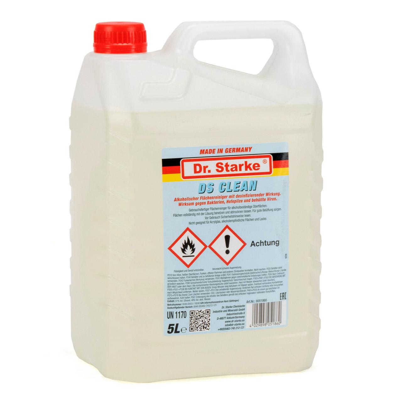 Dr. Starke Desinfektionsmittel Flächendesinfektion Schnelldesinfektion 5 Liter