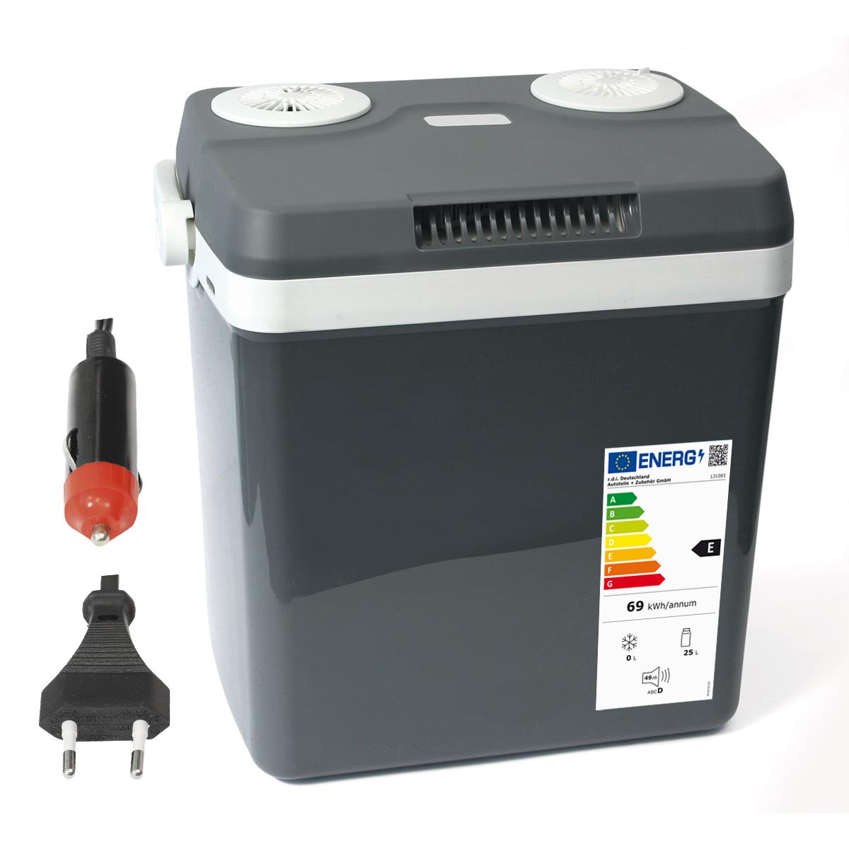 Dino KRAFTPAKET 131001 Thermoelektrische Kühlbox Warmhaltebox 12V 220-240V 32 L