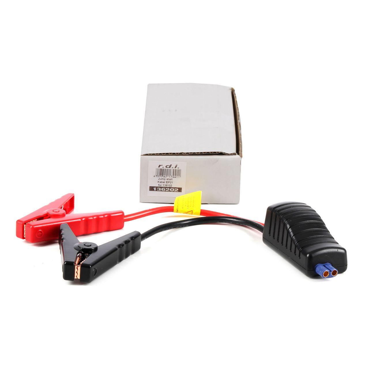 Dino KRAFTPAKET 136202 Ersatzkabel EP21 für 136102 Powerbank Startbooster