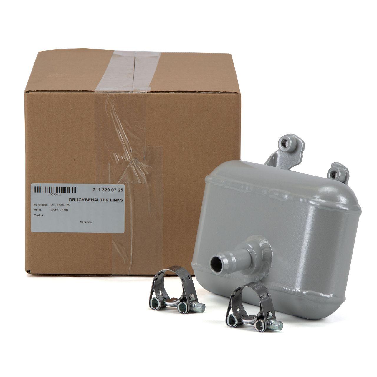 Druckbehälter Hydrospeicher Airmatik für MERCEDES C219 W211 S211 hinten links