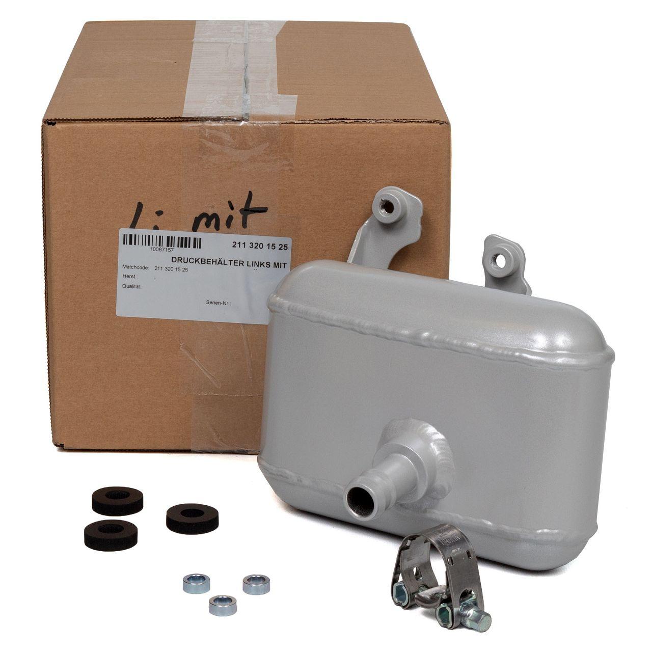 Druckbehälter Hydrospeicher Airmatik für MERCEDES W211 OM642 M113 hinten links