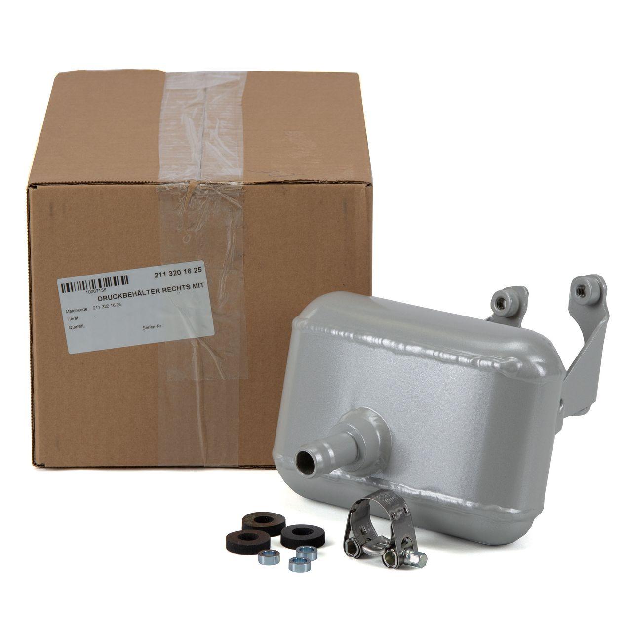 Druckbehälter Hydrospeicher Airmatik für MERCEDES W211 OM642 M113 hinten rechts
