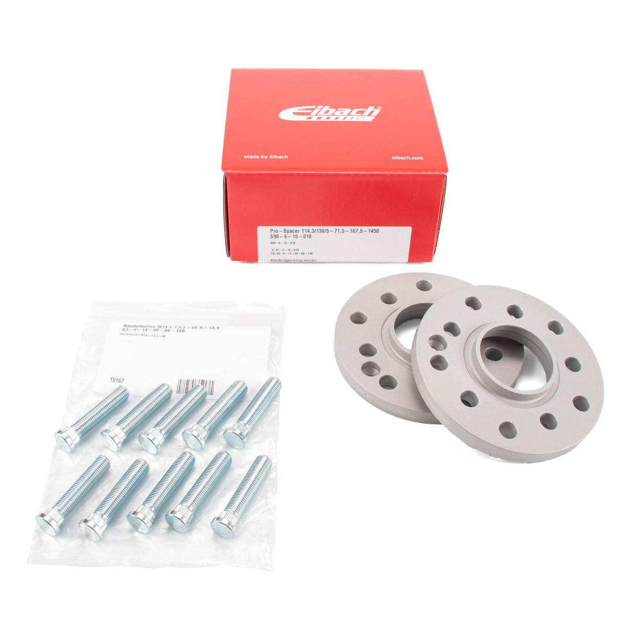 EIBACH S90-6-15-018 PRO SPACER 30mm Spurverbreiterung PORSCHE 911 964 993 928 944 959 968