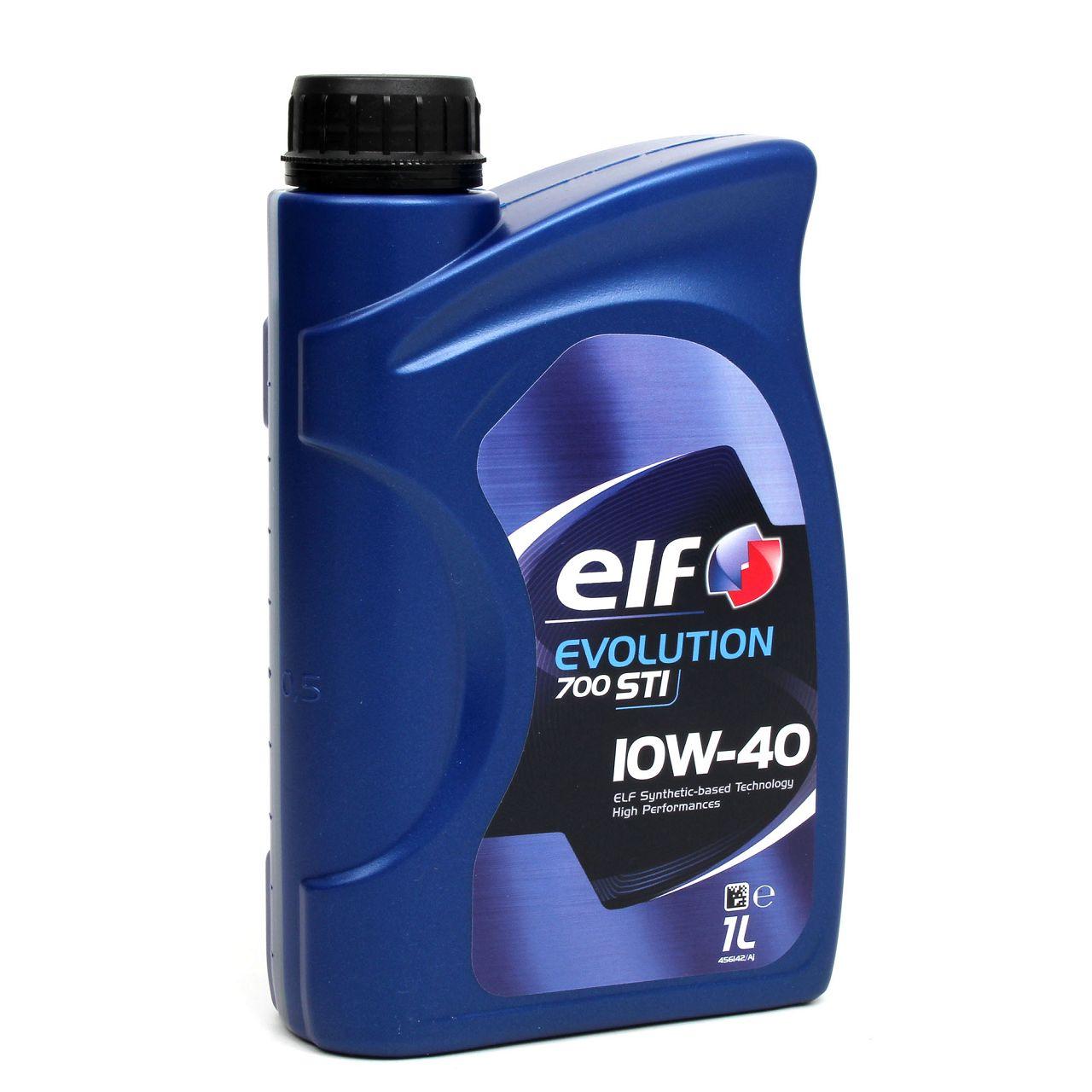 elf Evolution 700 STI 10W-40 Motoröl für VW 501.01/505.00 MB 229.1 - 1 Liter