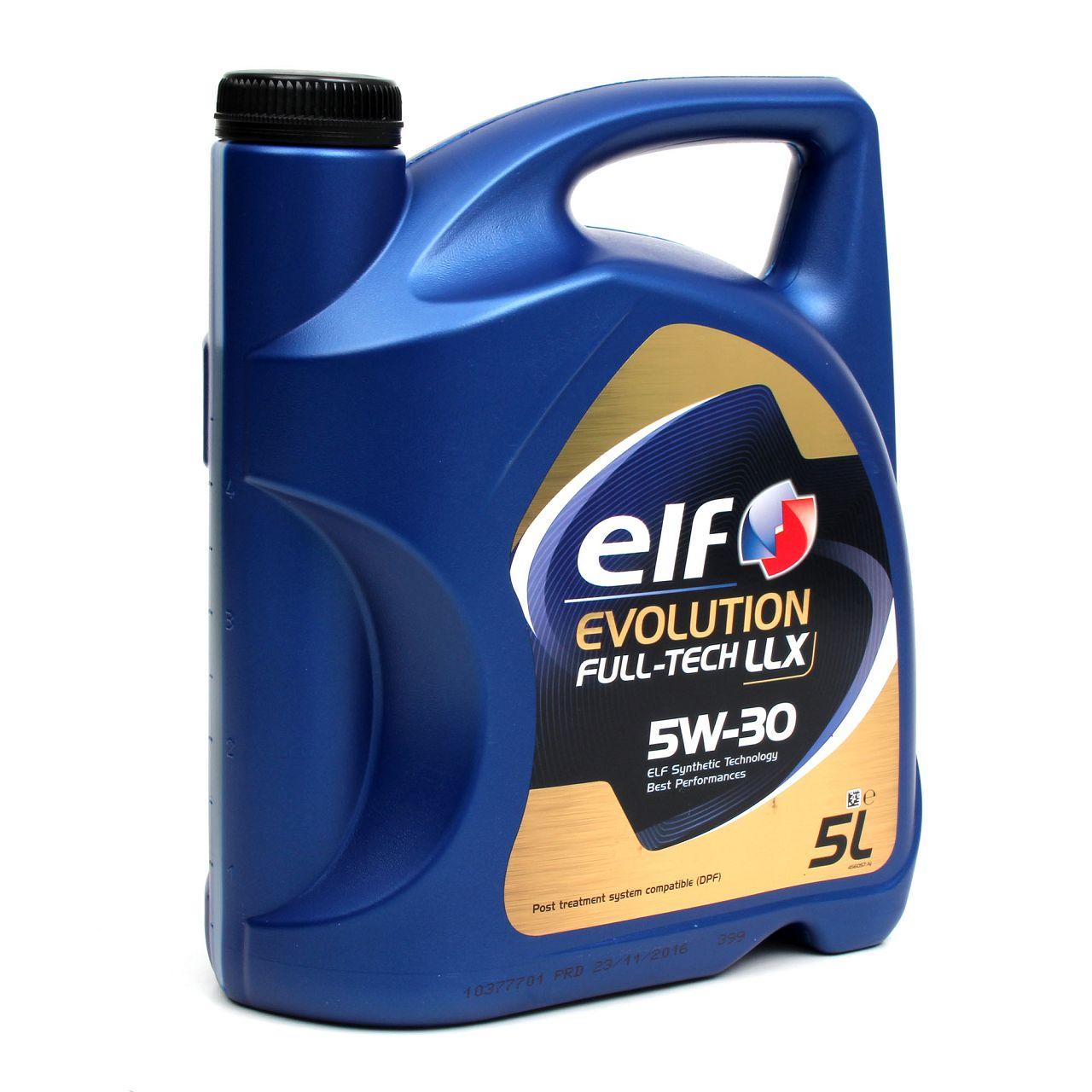 5L elf Evolution Full-Tech LLX 5W-30 Motoröl 504.00/507.00 MB 229.51 - 5 Liter