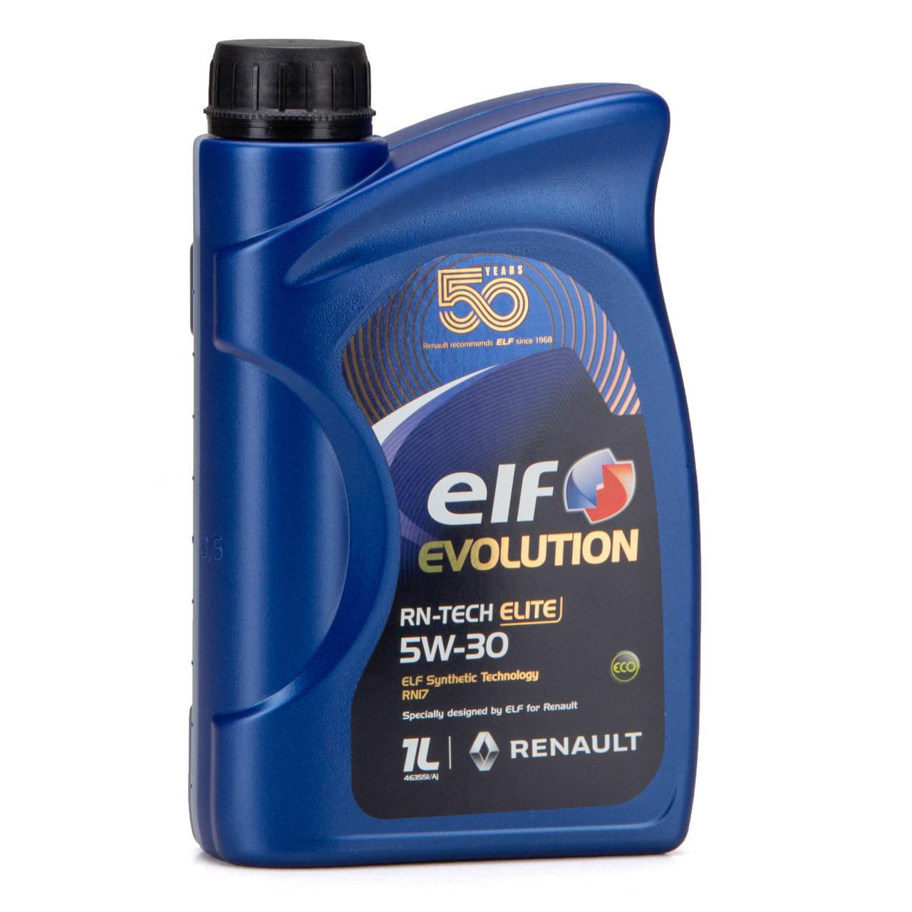 elf Evolution RN-TECH ELITE 5W-30 5W30 Motoröl Öl C3 Renault RN17 - 2L 2 Liter