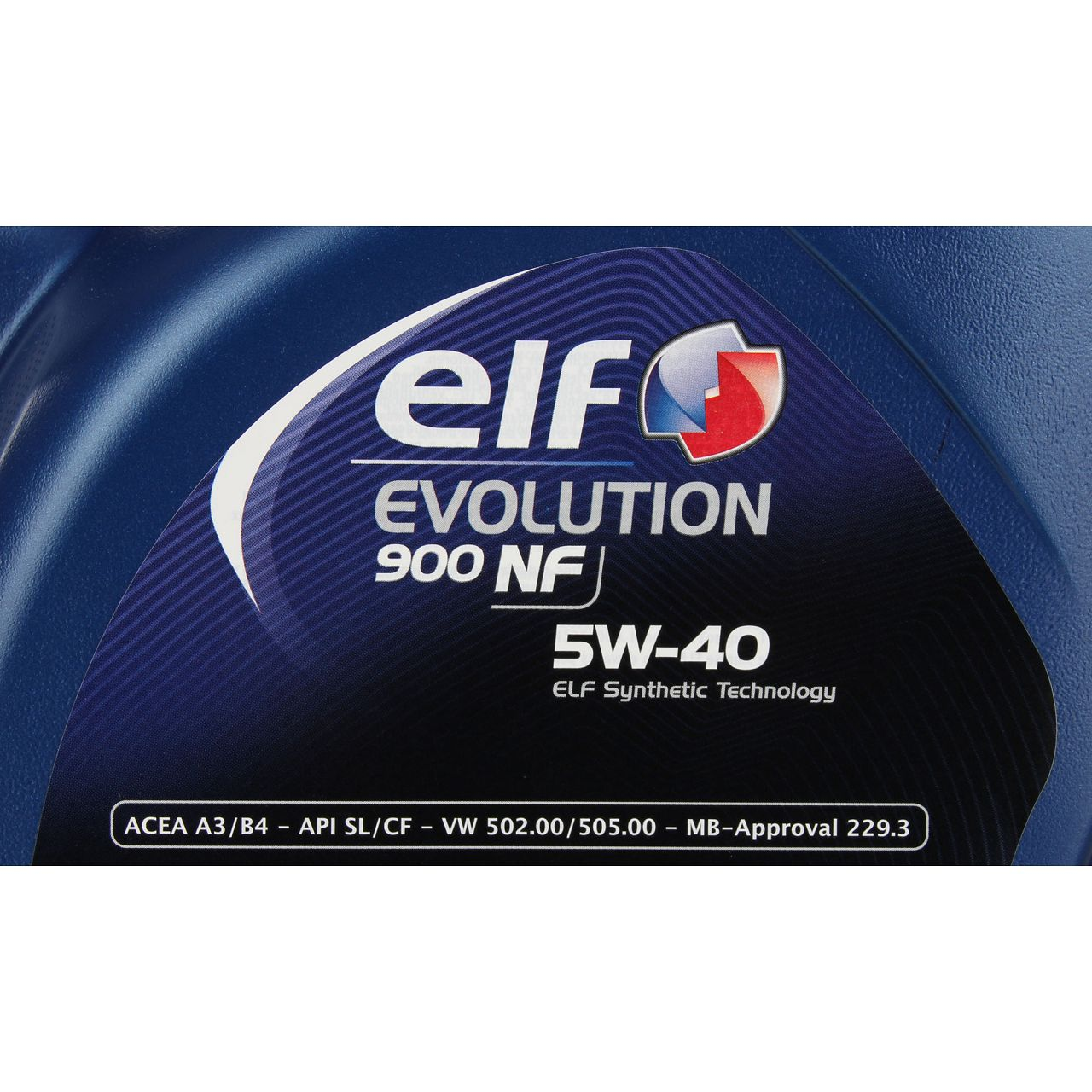 elf Evolution 900 NF 5W-40 Motoröl VW 502.00/505.00 MERCEDES 229.3 - 5L 5 Liter