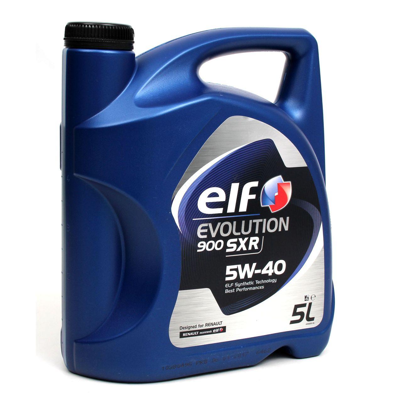 elf Evolution 900 SXR 5W-40 Motoröl RN0700 RN0710 MERCEDES 226.5 - 5L 5 Liter