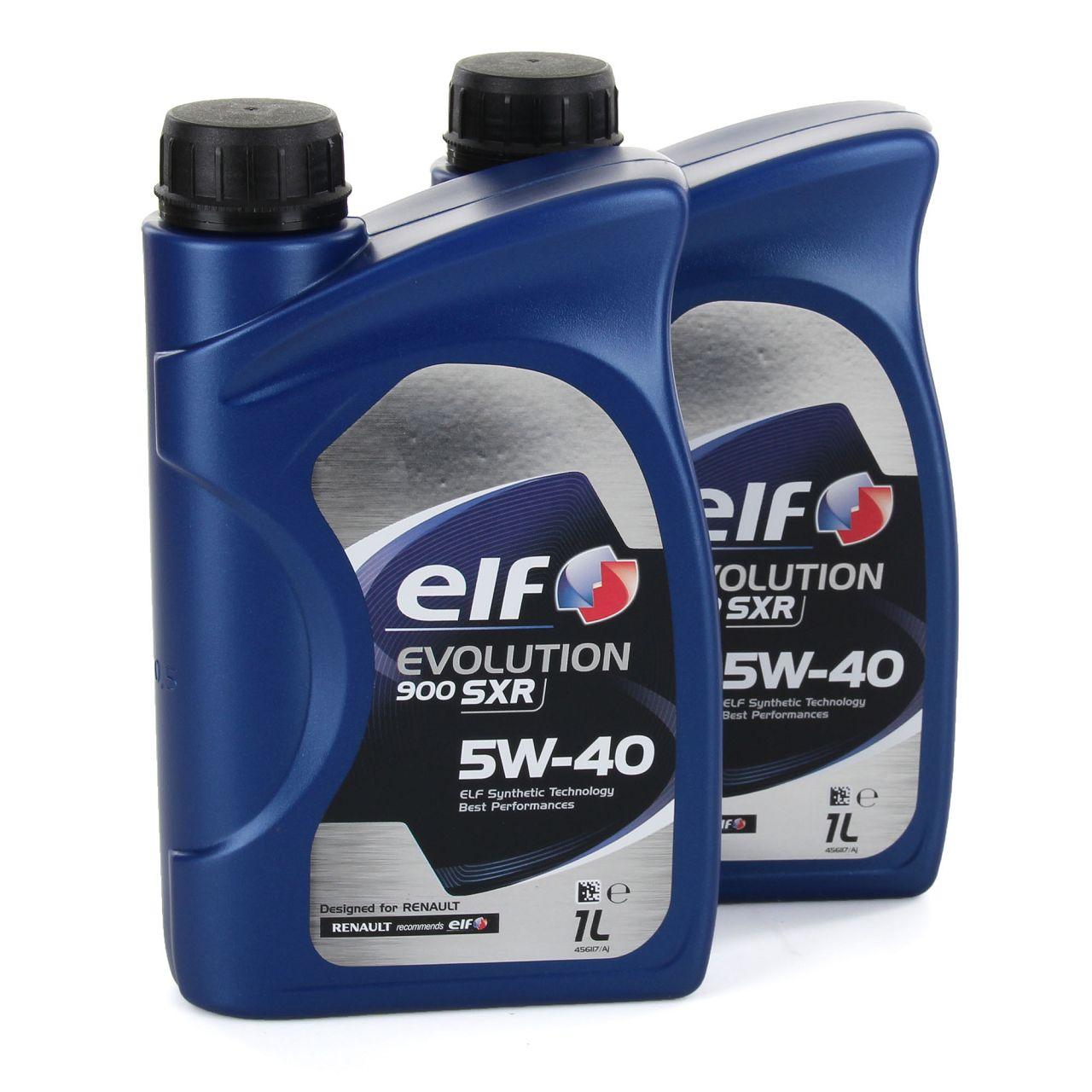 elf Evolution 900 SXR 5W-40 Motoröl RN0700 RN0710 MERCEDES 226.5 - 2L 2 Liter