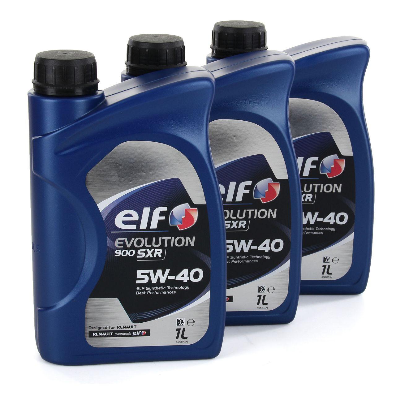elf Evolution 900 SXR 5W-40 Motoröl RN0700 RN0710 MERCEDES 226.5 - 3L 3 Liter