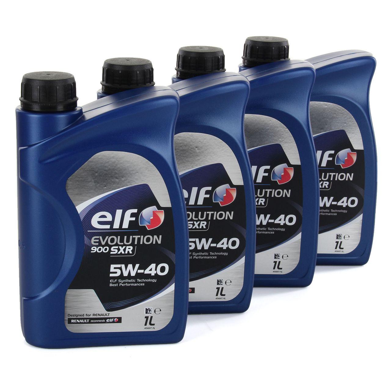 elf Evolution 900 SXR 5W-40 Motoröl RN0700 RN0710 MERCEDES 226.5 - 4L 4 Liter