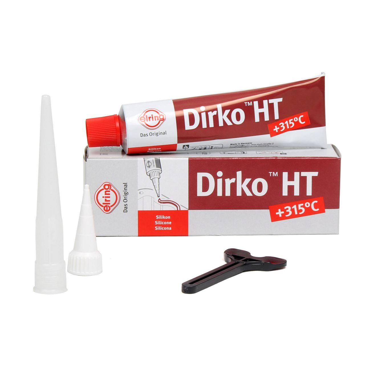 ELRING 705.708 Spezial Silikon Dichtmasse Dichtungsmasse DIRKO-HT 70ml