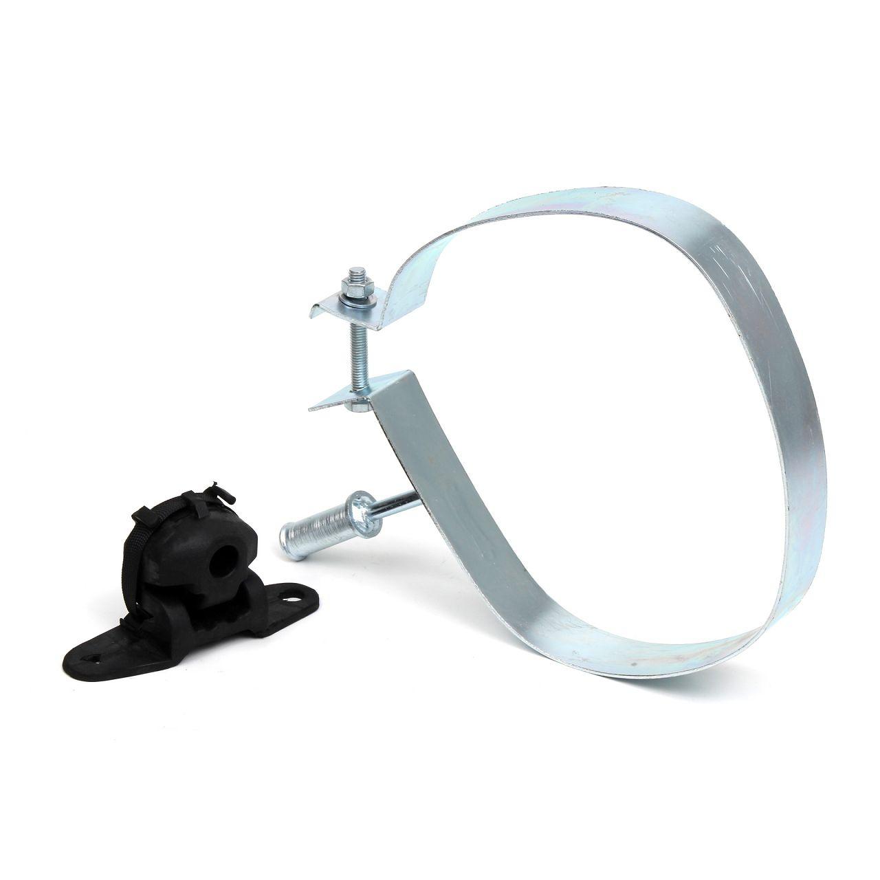 Montagesatz Auspuff Endtopf Topfhalter Schalldämpferhalter für C3 Picasso / 207
