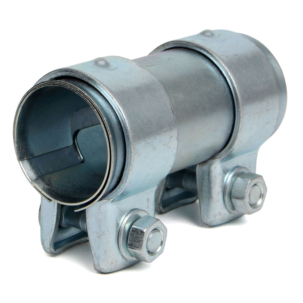 Rohrverbinder Doppelschelle Auspuff Abgasanlage Ø 35 mm x Länge 95 mm
