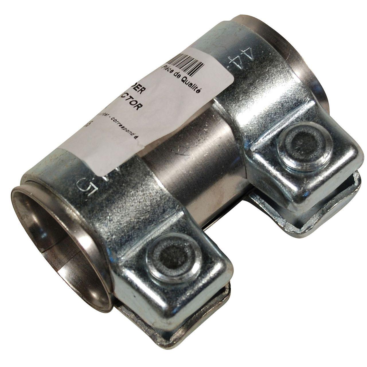 Rohrverbinder Doppelschelle Auspuff Abgasanlage Ø 40 mm x Länge 90 mm