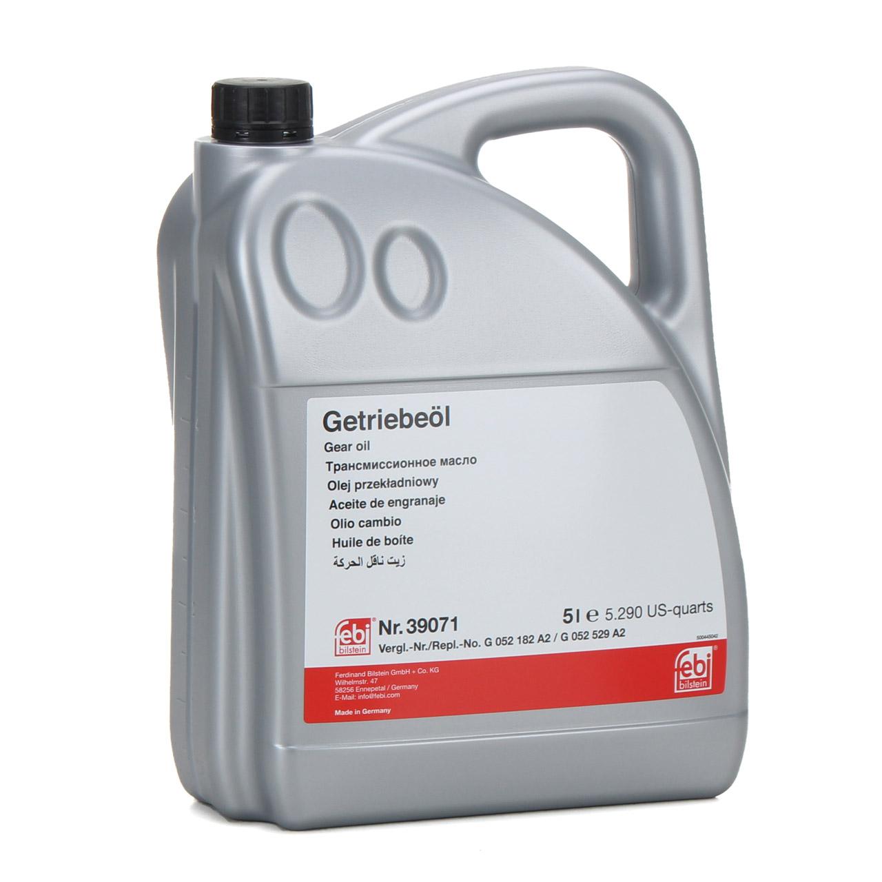 HENGST Hydraulikfilter + Dichtung + 6L FEBI Getriebeöl MERCEDES W176 W246 C117 X117 X156
