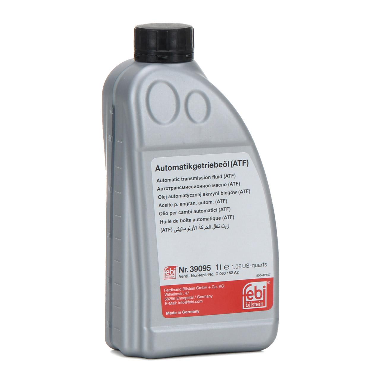 VAICO Hydraulikfilter + Dichtung + 7L FEBI Getriebeöl VW Phaeton AUDI A4 A6 A8