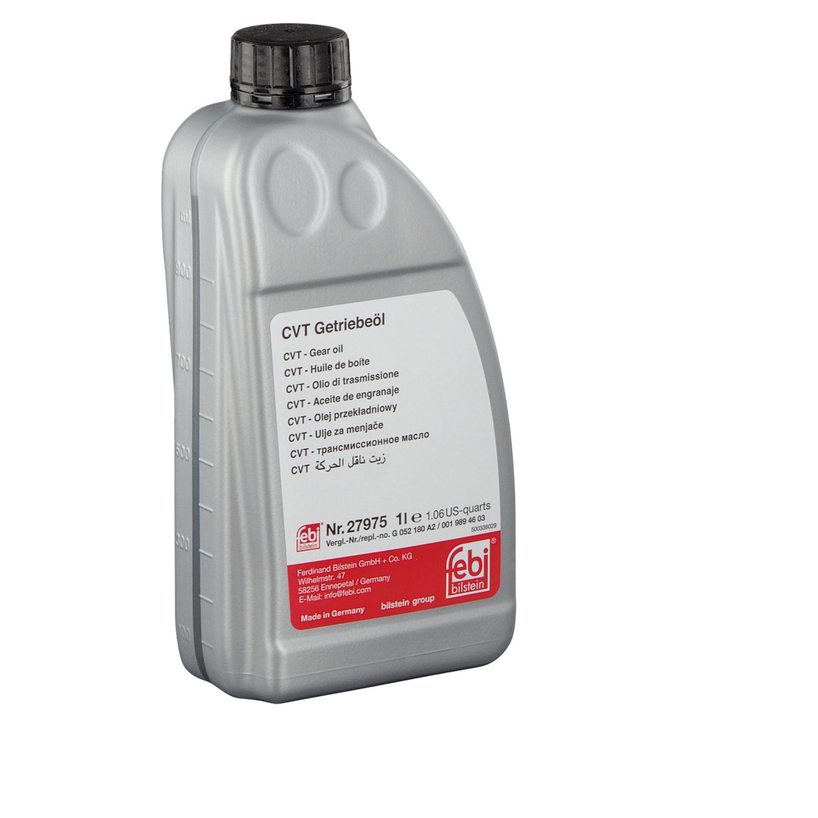 FEBI Hydraulikfilter + 7L Getriebeöl 0AW CVT-Multitronic AUDI A4 B8 A5 8T 8F A6 C7 A7 4G
