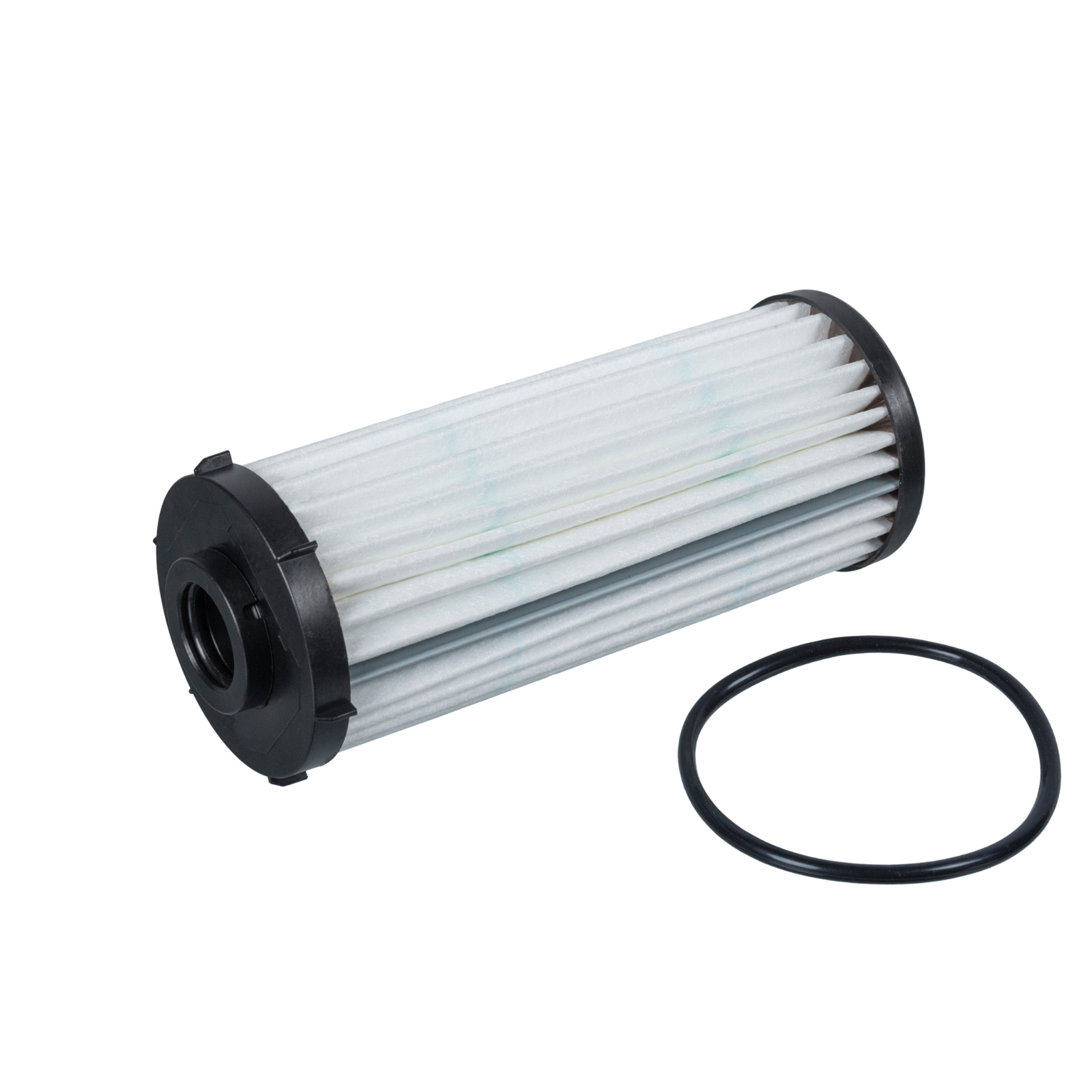 FEBI Getriebefilter + 6L Getriebeöl + Befüllschlauch für VAG 7-Gang DSG DQ500