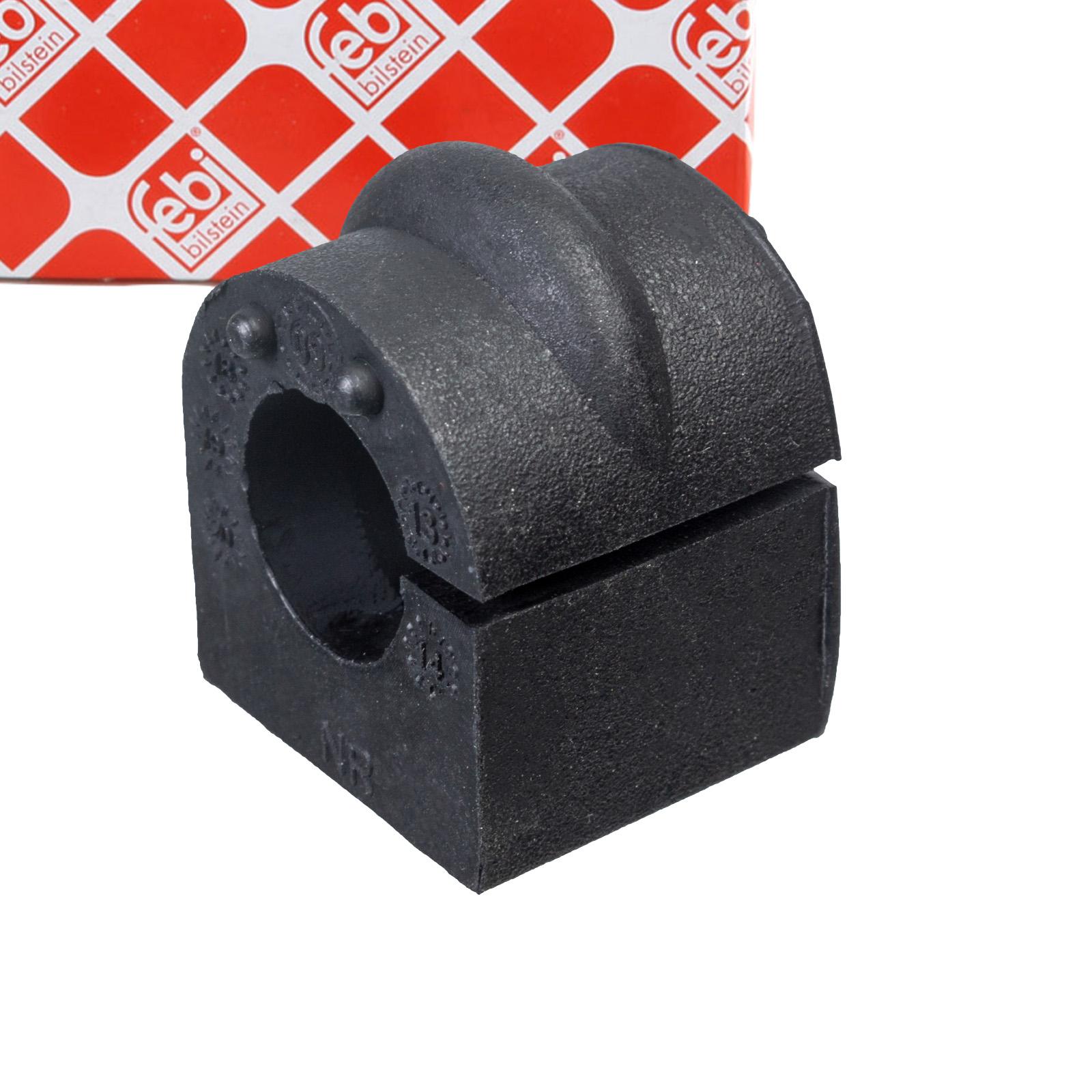2x FEBI 108170 Stabilisatorlager MERCEDES 190 W201 W169 W202 W124 W210 hinten 1243260181