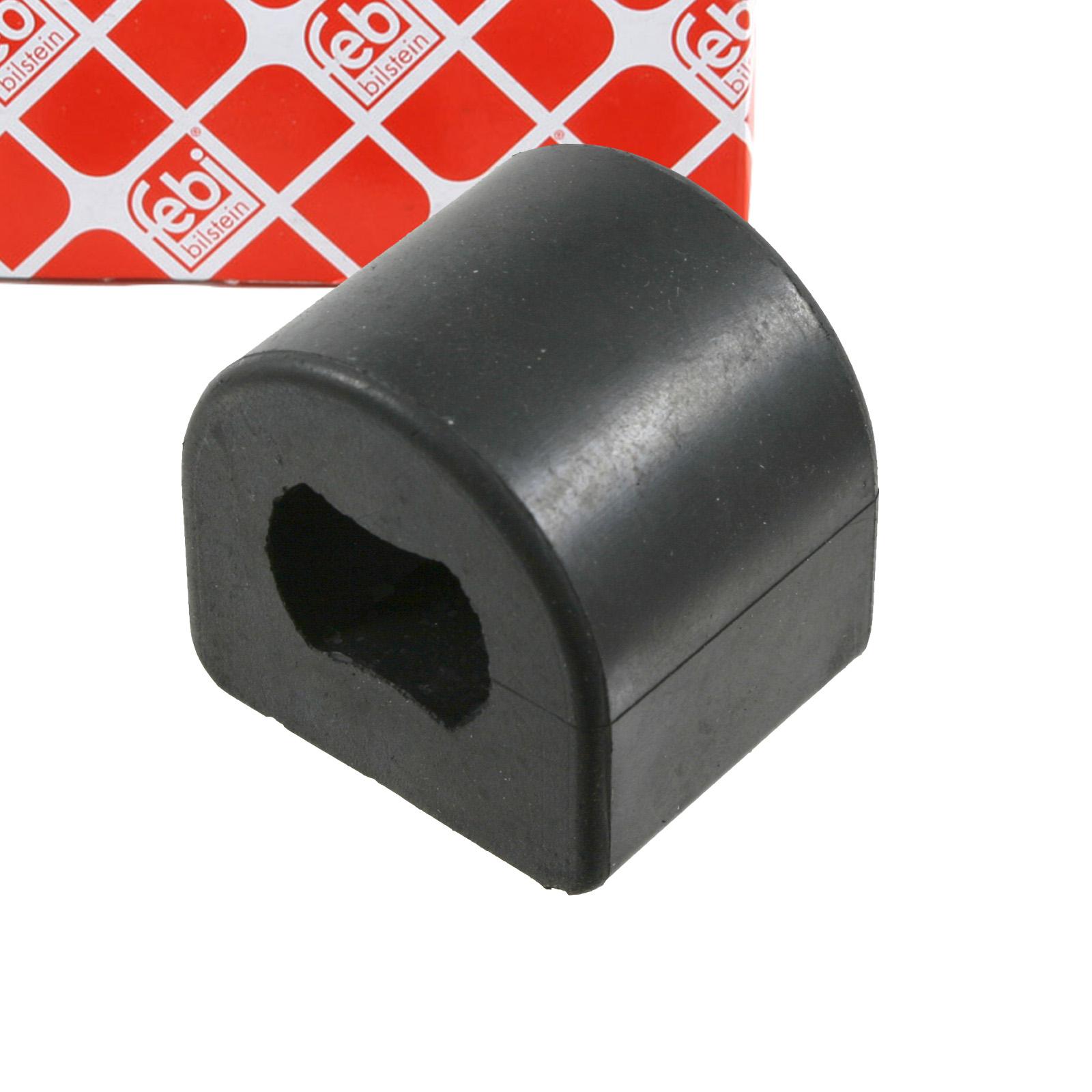 2x FEBI 21823 Stabilisatorlager PEUGEOT 605 (6B) 607 (9D, 9U) hinten