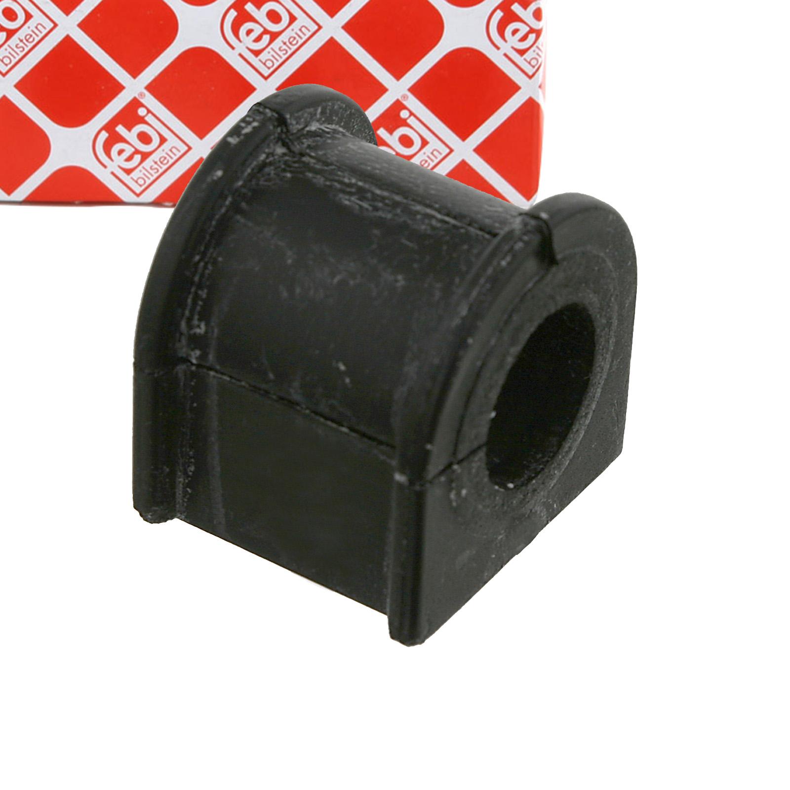 2x FEBI 24916 Stabilisatorlager FORD Mondeo 1 MK1 2 MK2 hinten 7144204