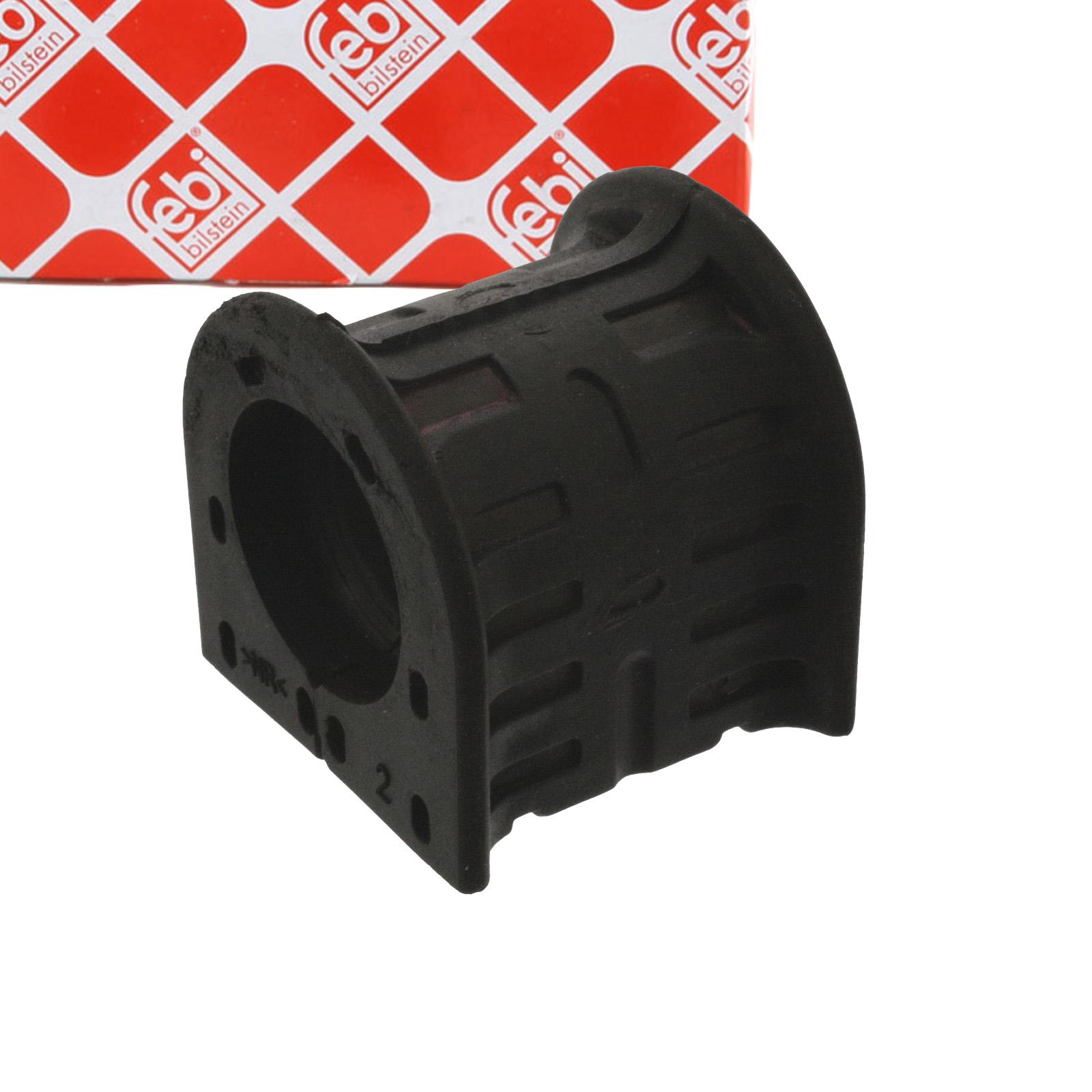 2x FEBI 44539 Stabilisatorlager NISSAN NV400 OPEL Movano B RENAULT Master 3 hinten