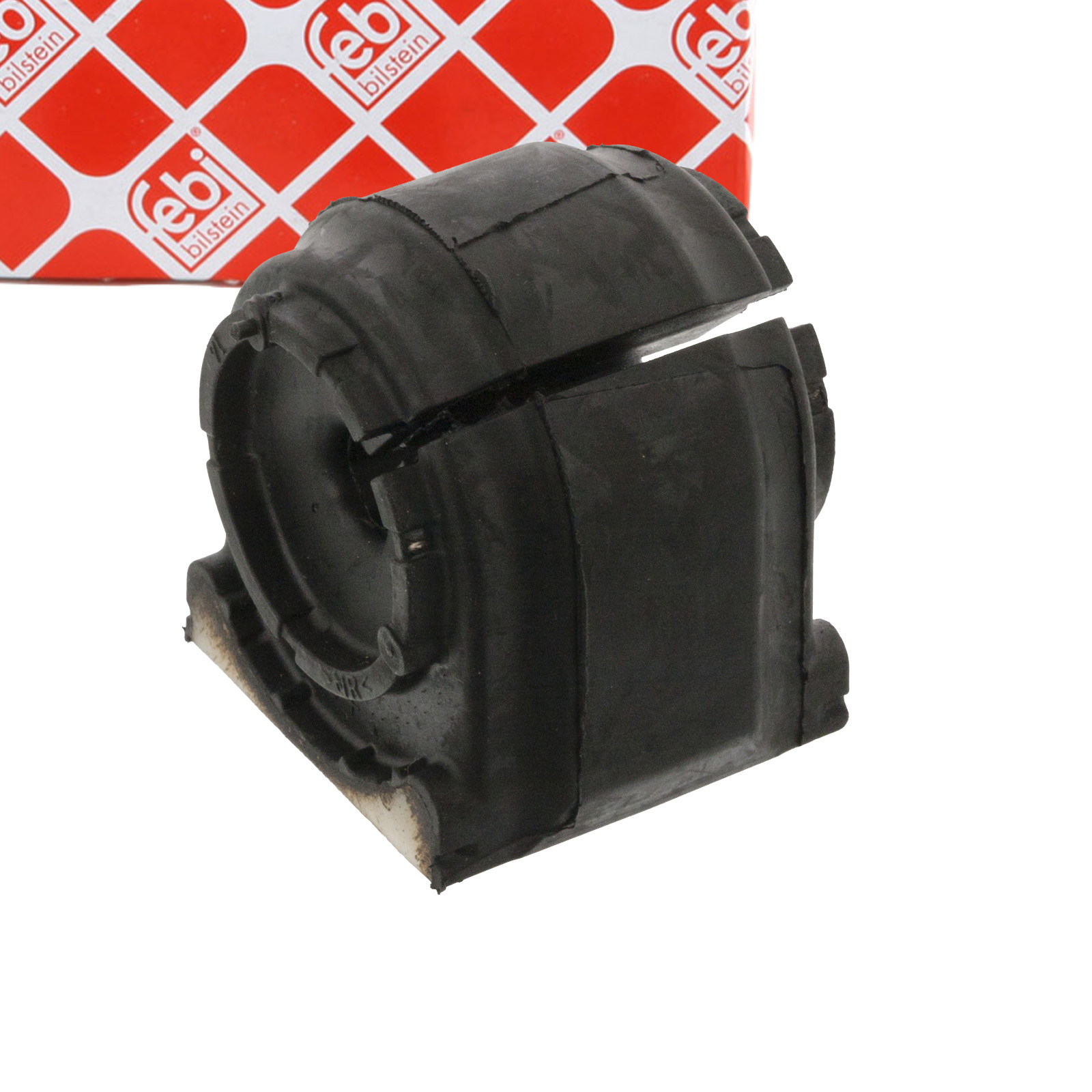 2x FEBI 45856 Stabilisatorlager MERCEDES Sprinter (906) VW Crafter (2E 2F) hinten