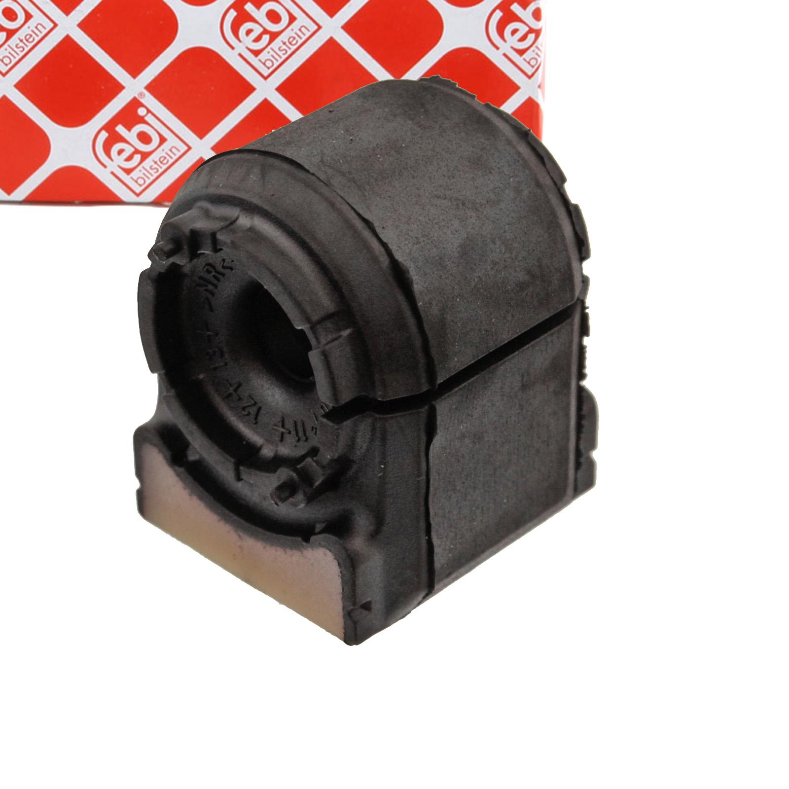 2x FEBI 45869 Stabilisatorlager MERCEDES Viano Vito / Mixto W639 hinten 6393261281