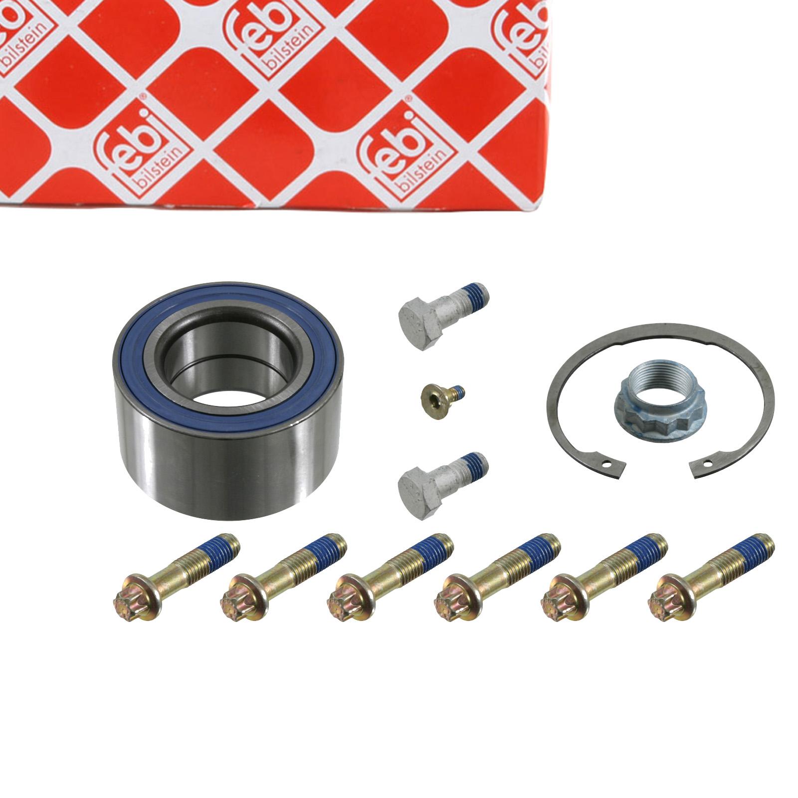 FEBI 08219 Radlagersatz Radlager MERCEDES W124 S420-600 / 400SE-600SE hinten A1403500149