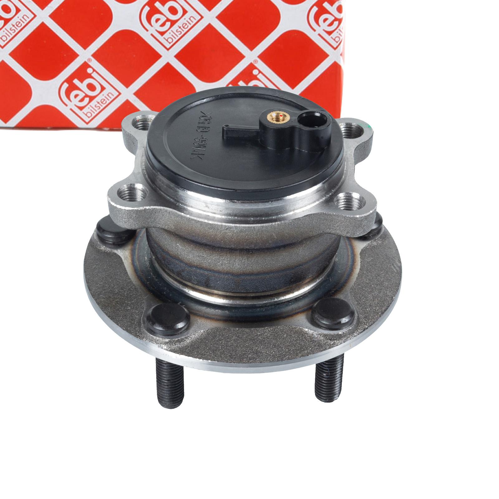 FEBI 101370 Radlagersatz Radnabe Radlager MAZDA 3 (BM) 6 (GJ) CX-5 (KE) hinten KD312615XB