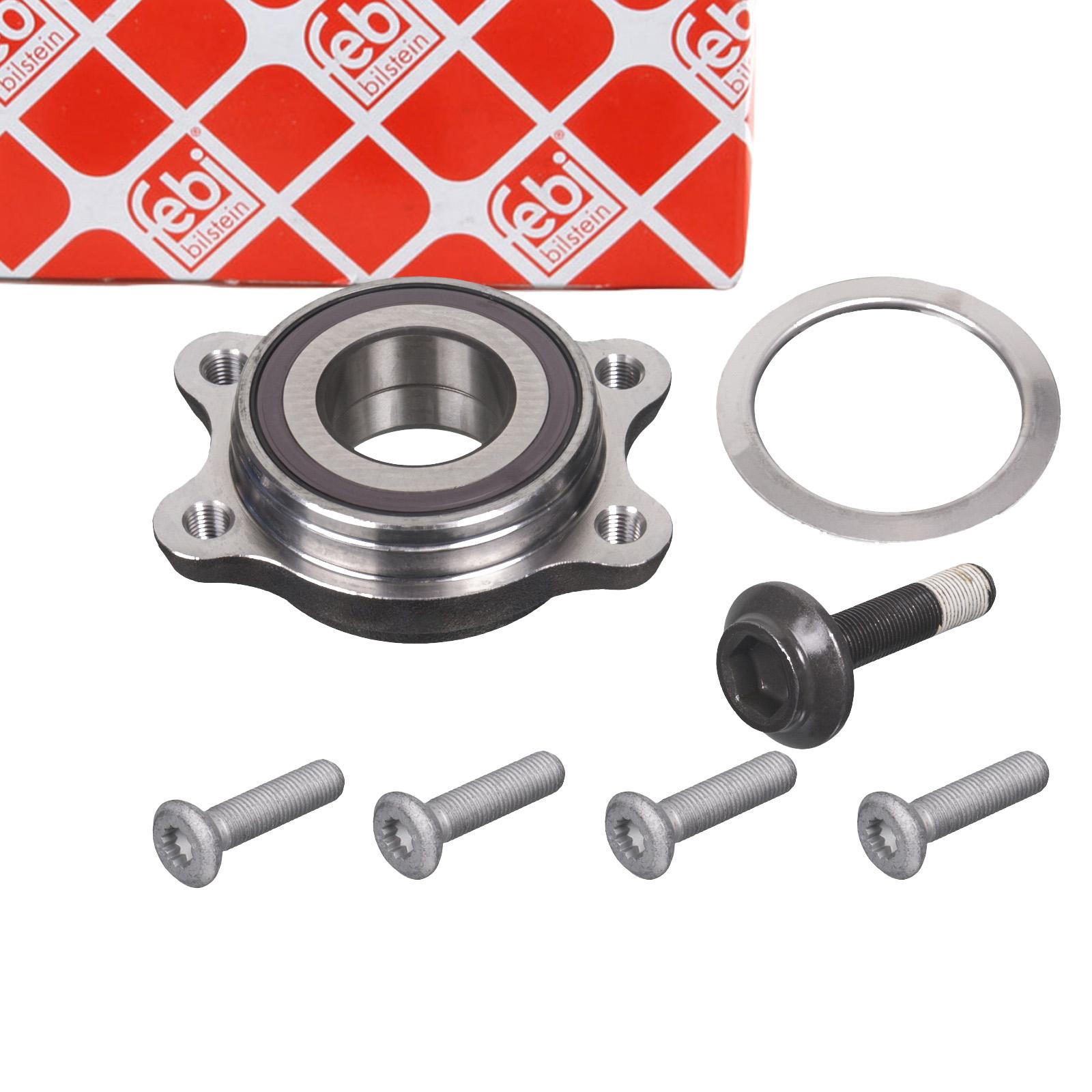 FEBI 102315 Radlagersatz Radnabe AUDI A8 (4D) 2.8-6.0 / S8 / 2.5-3.3 TDI vorne 4F0598625A