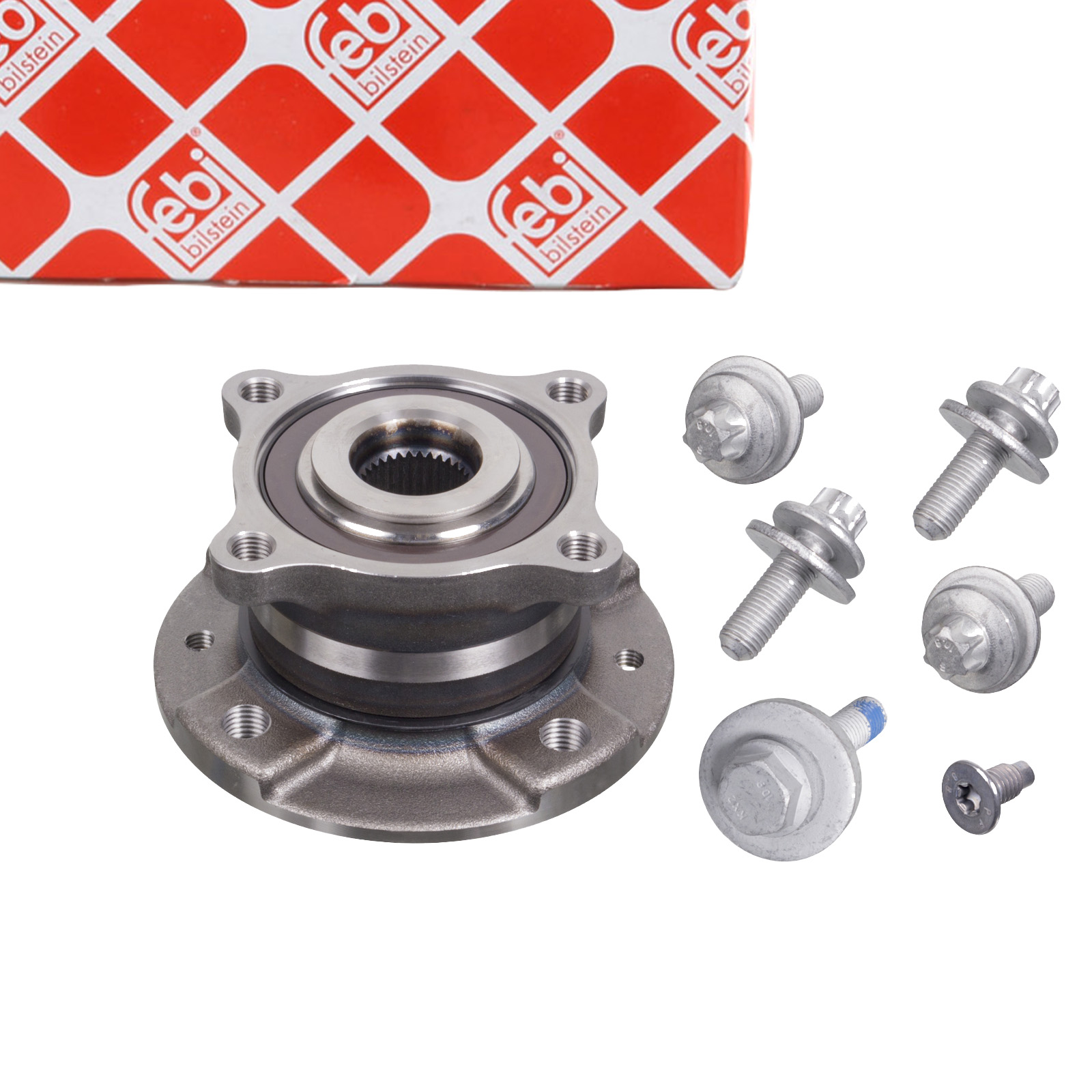 FEBI 102967 Radlagersatz Radnabe RENAULT Twingo 3 0.9 TCe / 1.0 SCe hinten 432067636R