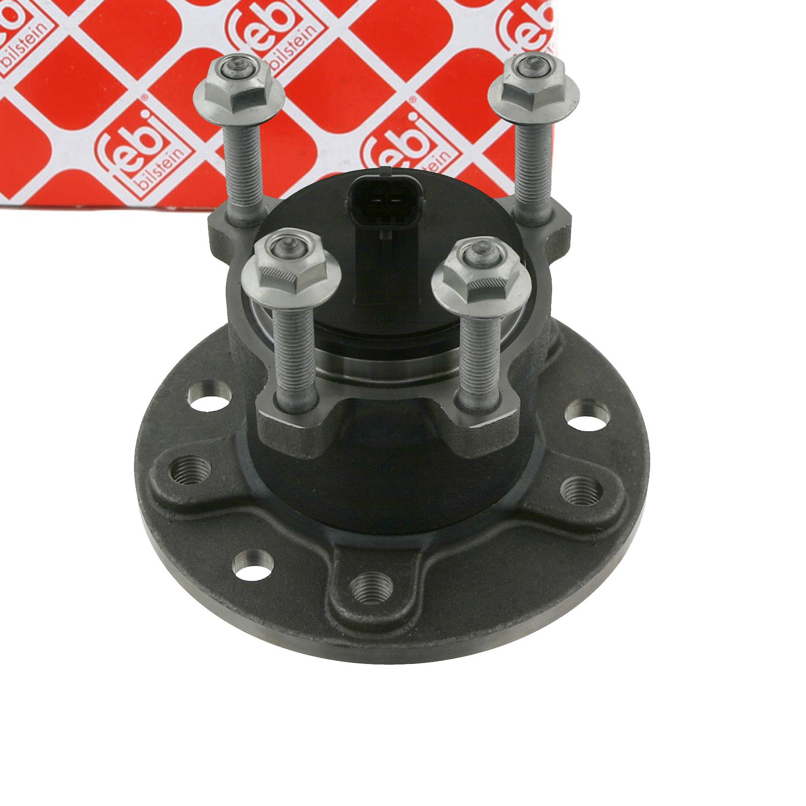 FEBI 26675 Radlagersatz Radnabe FIAT Croma (194) SAAB 9-3 (YS3F) 9-3 Kombi (E50) hinten
