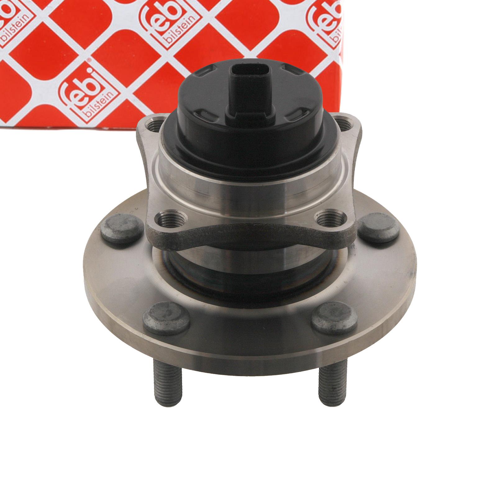FEBI 31338 Radlagersatz Radnabe TOYOTA Corolla Verso 1.6-1.8 / 2.0-2.2 D-4D hinten