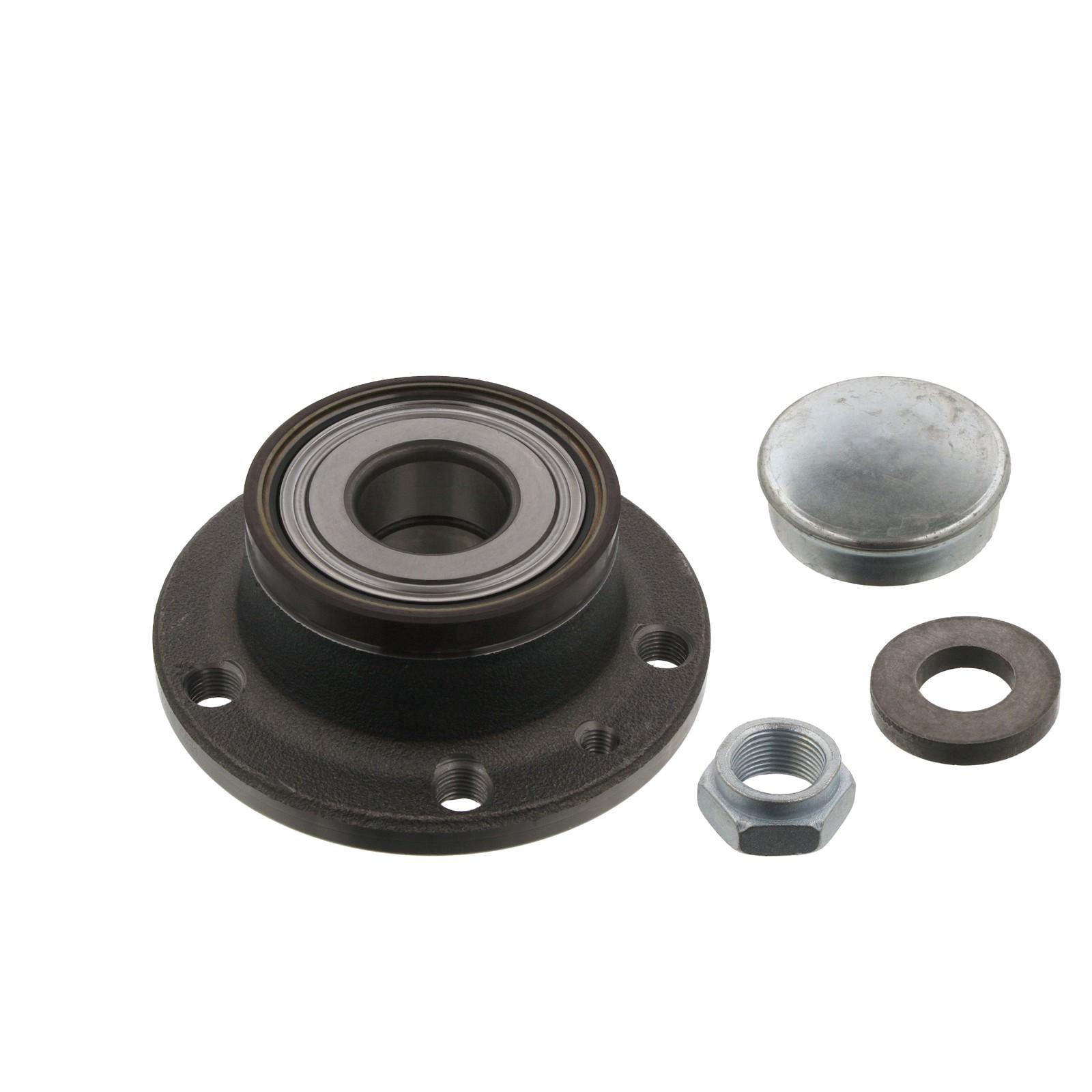 FEBI 34954 Radlagersatz Radnabe FIAT 500L 0.9-1.4 / 1.3-1.6 D Doblo 1.4 / 1.3-2.0 D hinten