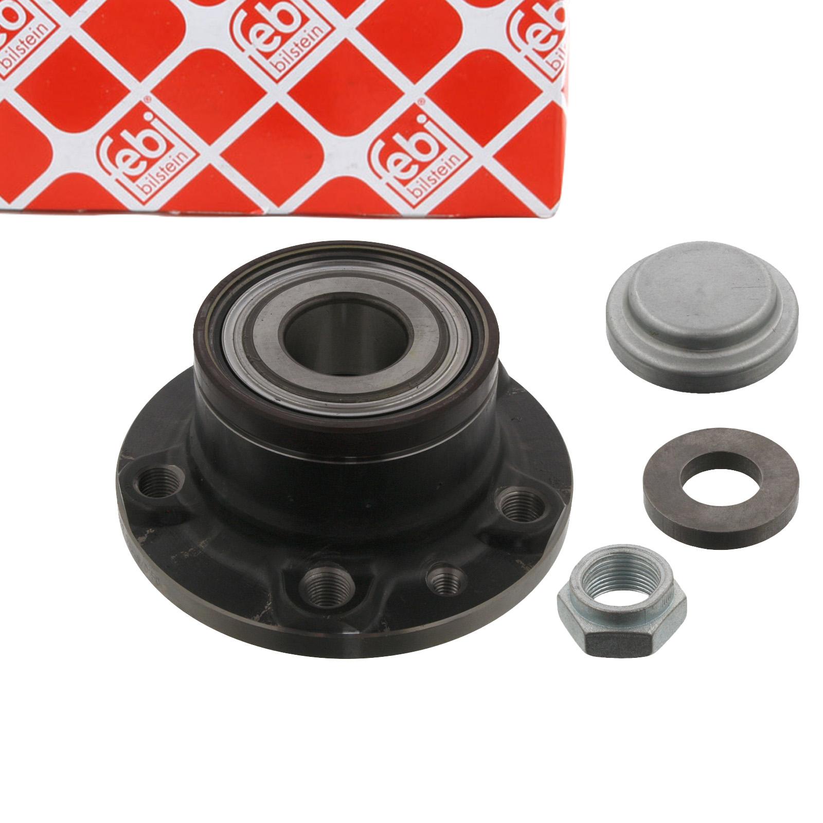 FEBI 34956 Radlagersatz Radnabe FIAT Doblo 1.4 / 1.3-2.0 D Multijet hinten 51810087