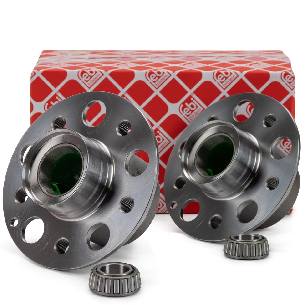 2x FEBI 32850 Radnabe Radlager MERCEDES CLS C219 E-Klasse W211 S211 SL R230 vorne