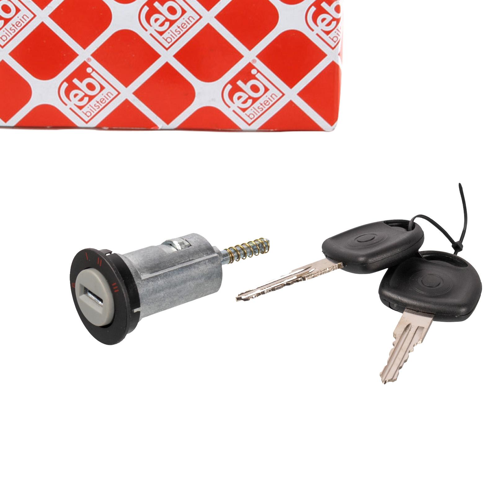FEBI 02748 Zündschloss + 2 Schlüssel OPEL Astra F Combo Corsa A B Kadett D E Tigra A
