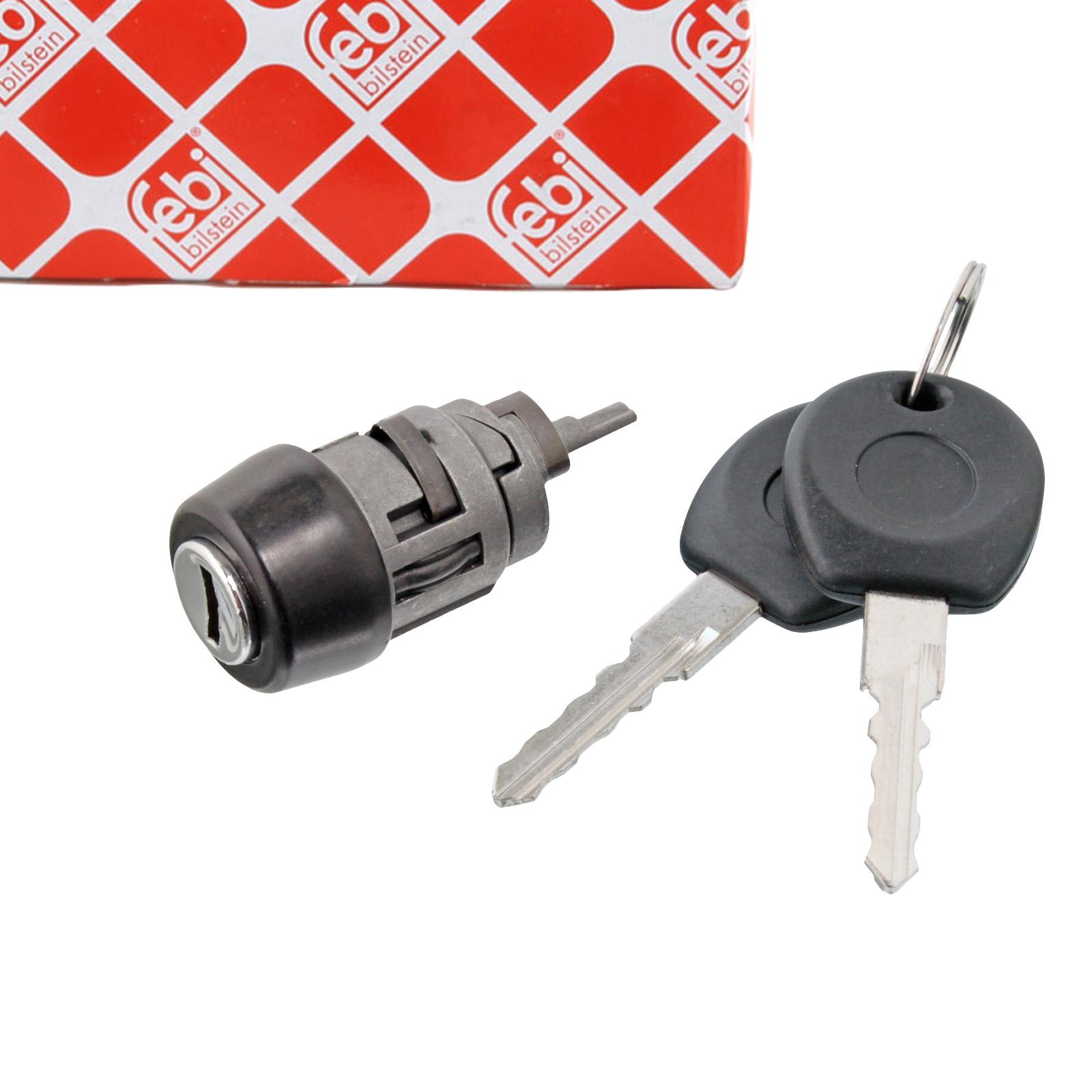 FEBI 17714 Zündschloss + 2 Schlüssel VW Passat 35i Transporter T4 Corrado