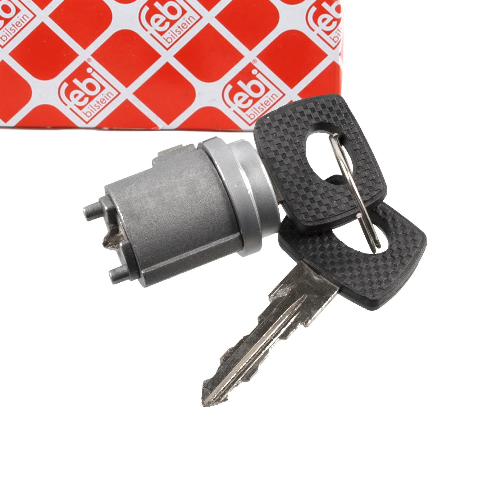 FEBI 17760 Zündschloss + 2 Schlüssel MERCEDES W123 W126 R107 1234620479