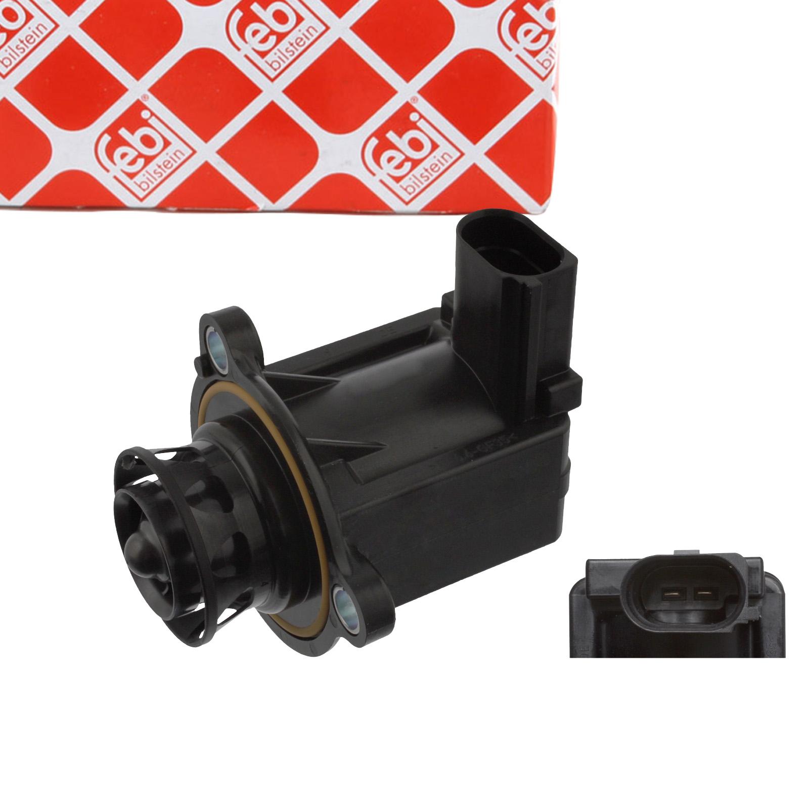 FEBI Schubumluftventil Umschaltventil Turbolader AUDI SEAT SKODA VW TSI 06H145710D