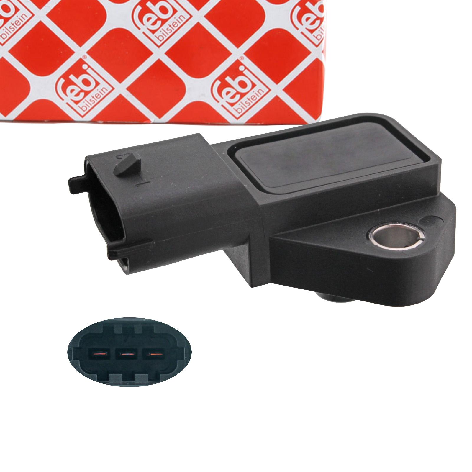 FEBI 100657 Saugrohrdrucksensor OPEL Corsa D S07 Signum CC Z03 Vectra C / CC Z02 6235707