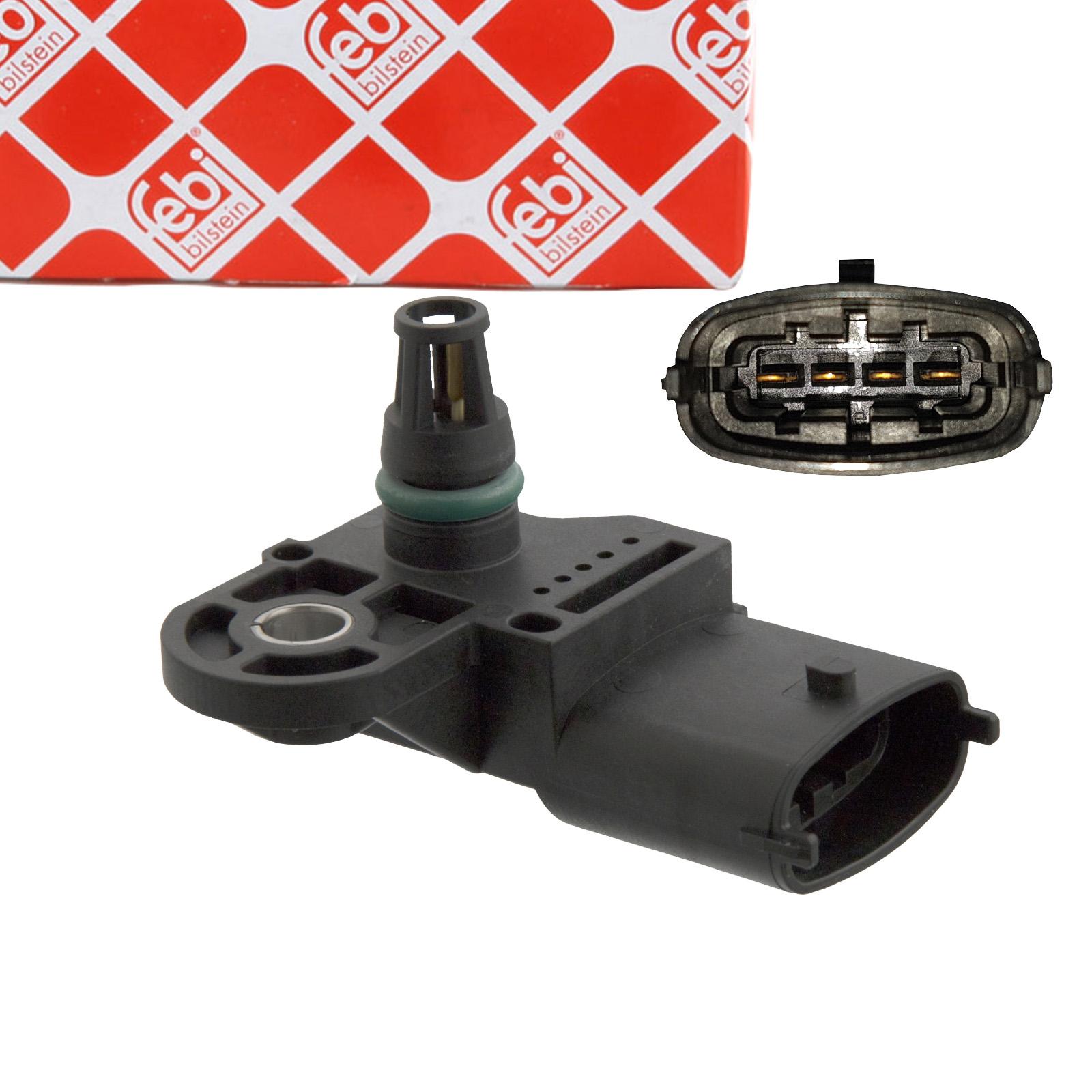 FEBI 101453 Saugrohrdrucksensor Sensor FIAT Ducato 230 244 2.3-2.8 JTD IVECO Daily 3