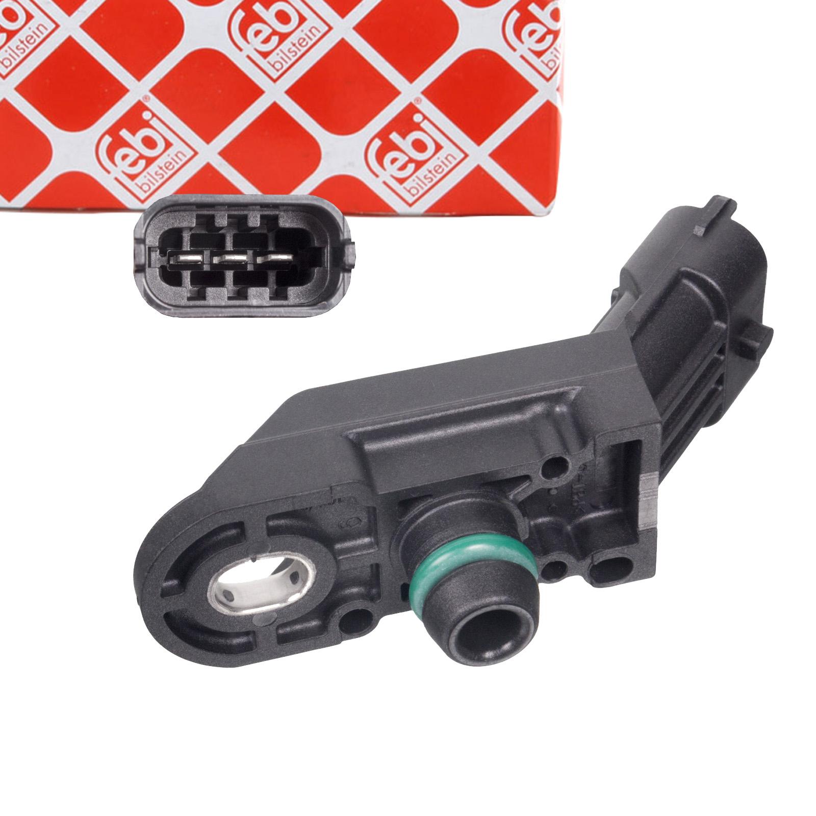 FEBI 102325 Saugrohrdrucksensor OPEL Corsa C D RENAULT Espace 3 4 FIAT Punto 199 Panda 169