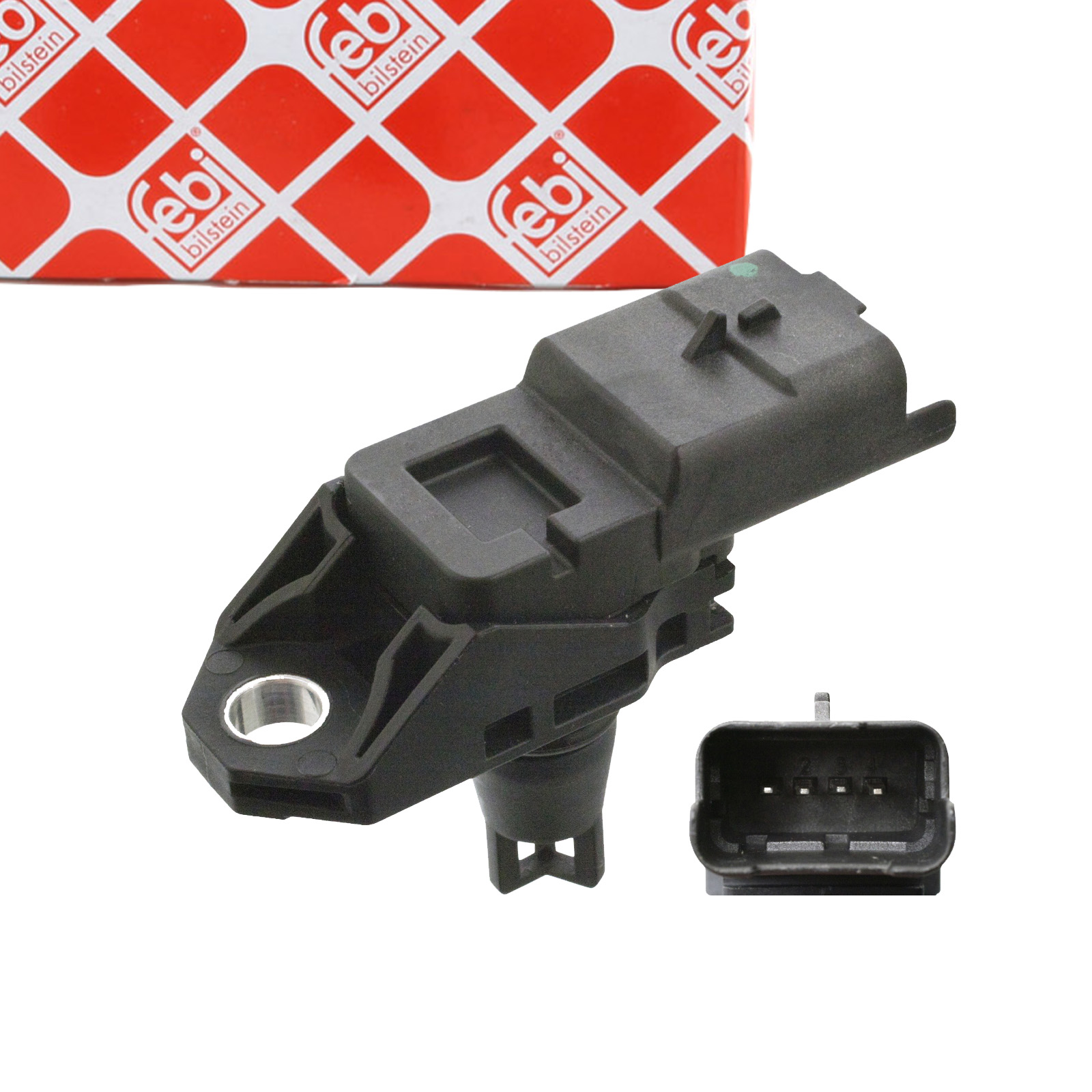 FEBI 106021 Saugrohrdrucksensor FORD C-Max 2 Fiesta 6 Kuga 1 2 VOLVO C30 S60 2 V60 V70 3