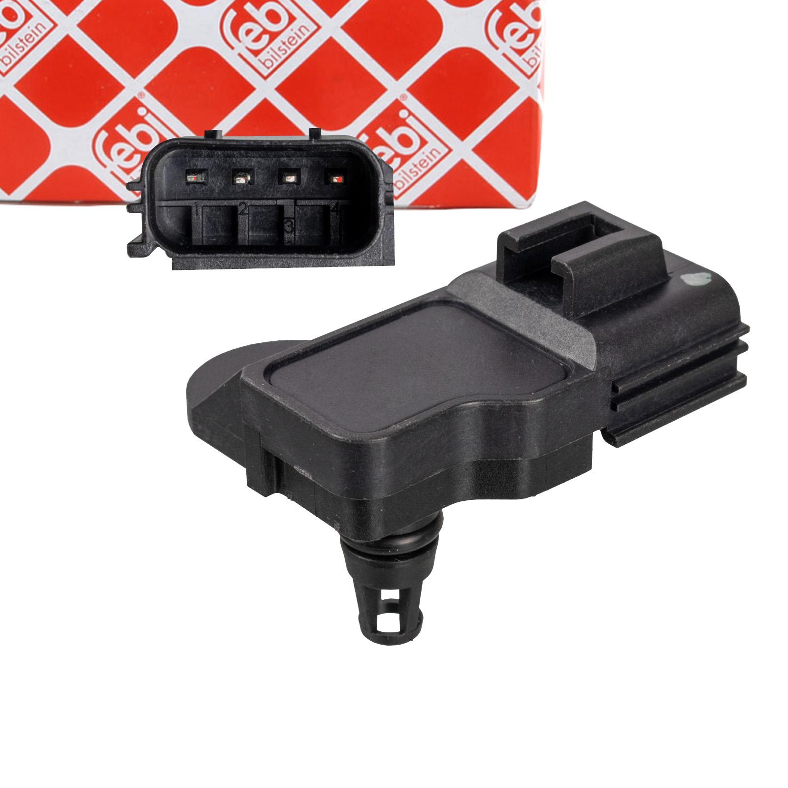 FEBI 106080 Saugrohrdrucksensor VOLVO C30 C70 2 S40 2 S60 2 S80 2 V60 1 V40 XC60 XC70 2