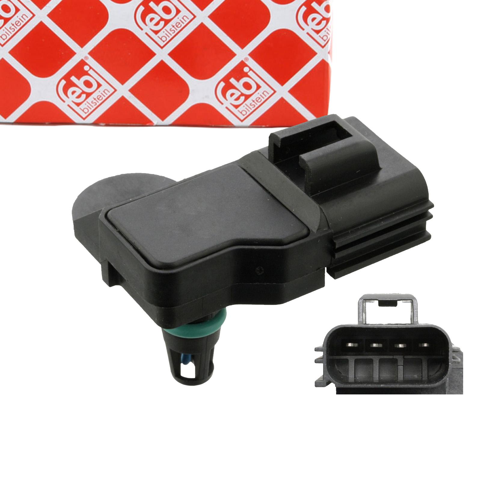 FEBI 107993 Saugrohrdrucksensor FORD Escort 6 1.3 KA RB_ 1.3i Fiesta 4 1.25i 16V 1086439