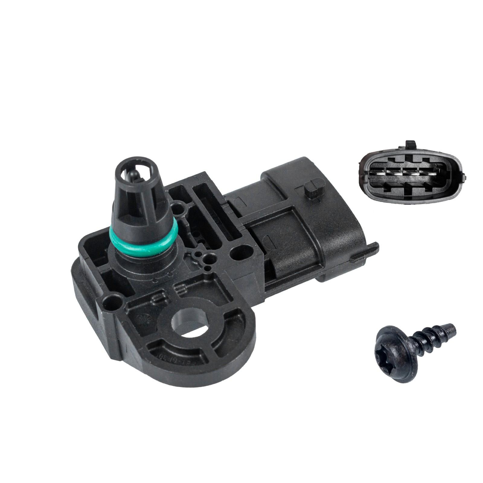 FEBI 38493 Saugrohrdrucksensor FORD Ka RU8 SMART ForFour 454 FIAT 500X 334 TIPO 356