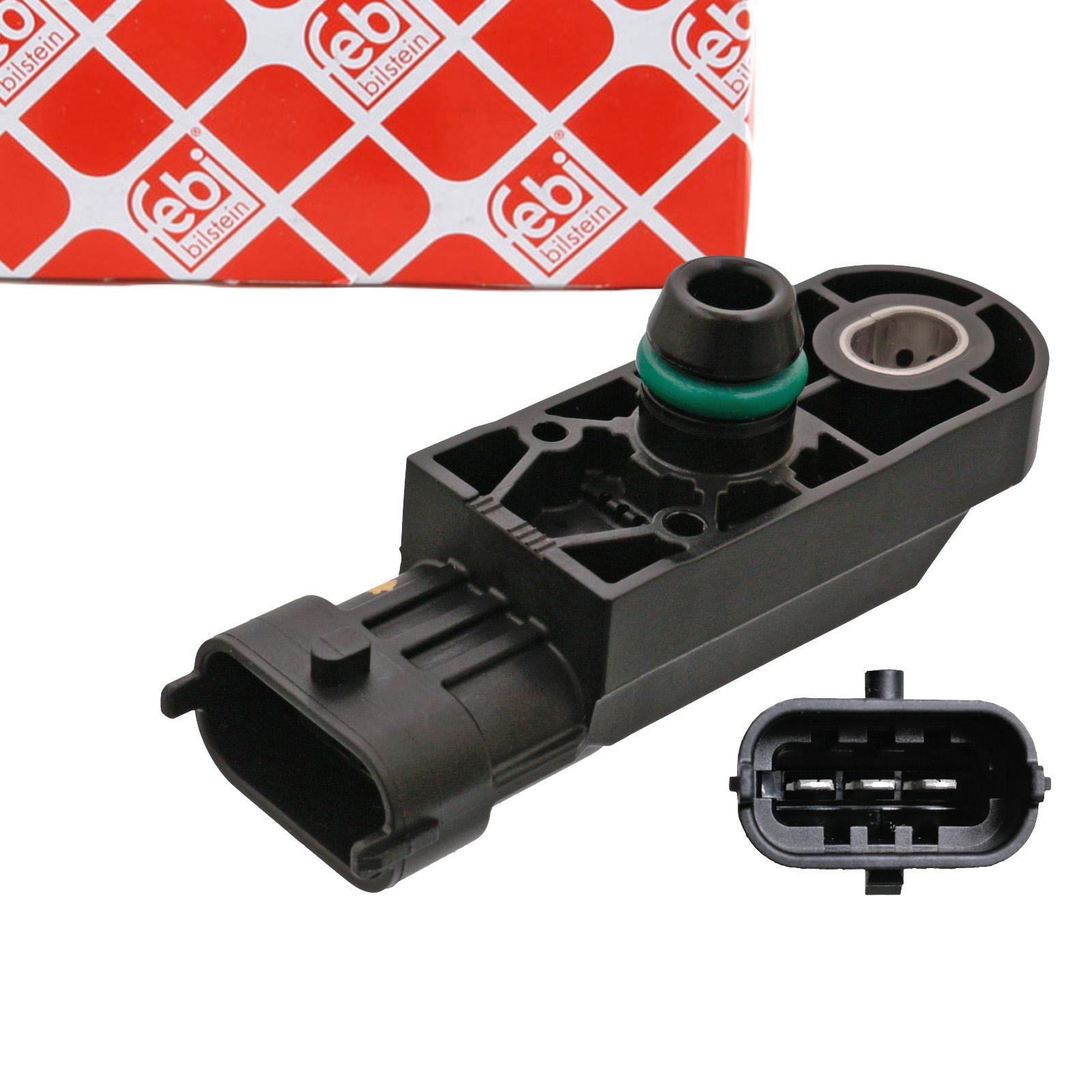 FEBI 49441 Saugrohrdrucksensor MERCEDES Citan 415 OPEL Movano X70 FIAT 500 Punto 199 Panda